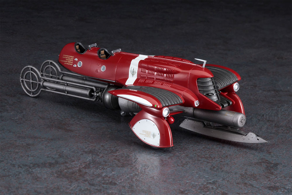 ヴァンシップ 高圧縮蒸気爆弾装備機 (ラストエグザイル)プラモデル(ハセガワクリエイター ワークス シリーズNo.64778)商品画像_2