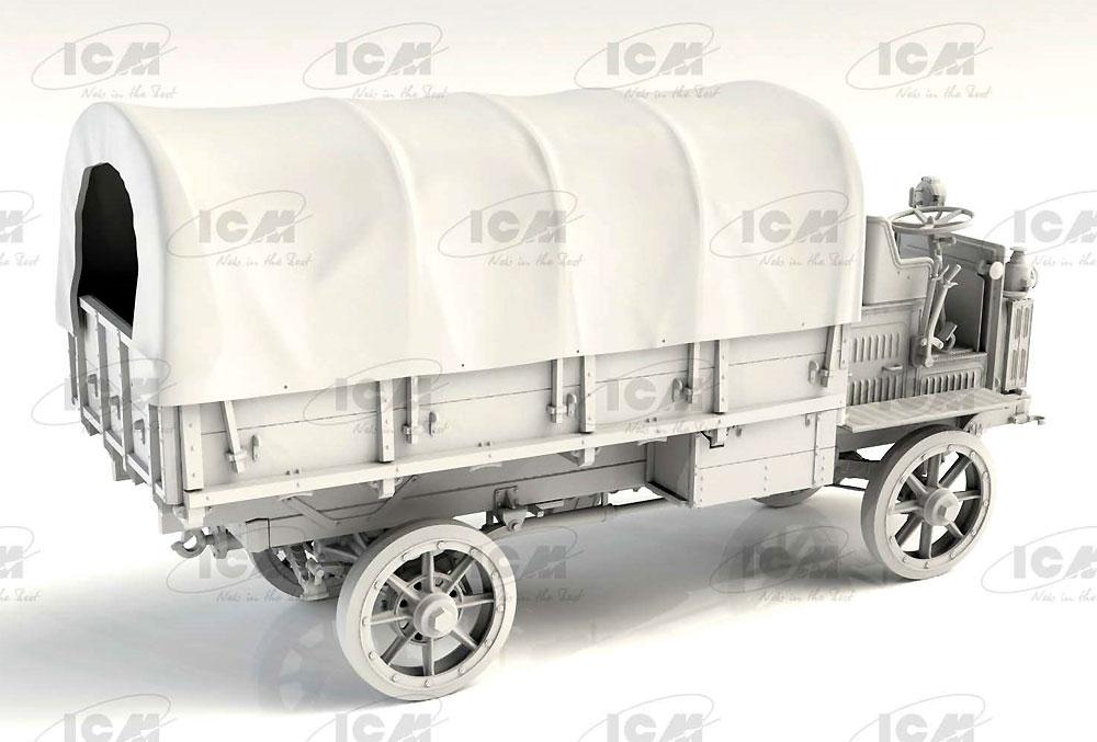 FWD Type B WW1 アメリカ陸軍 トラックプラモデル(ICM1/35 ミリタリービークル・フィギュアNo.35655)商品画像_3