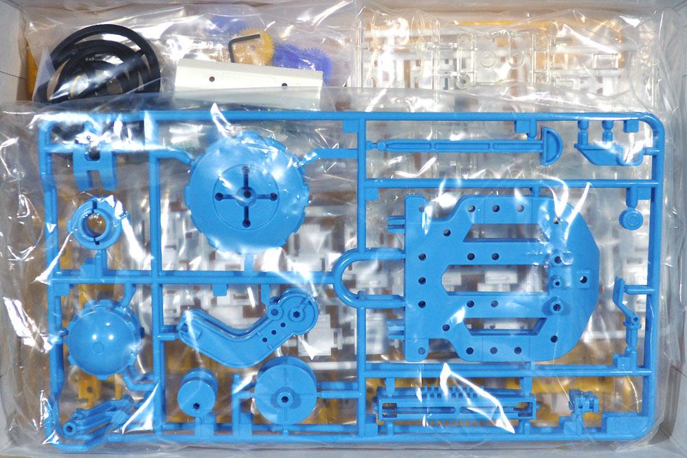 チェーンプログラムロボット 工作セット (ブルー/イエロー)工作キット(タミヤ楽しい工作シリーズNo.69931)商品画像_1