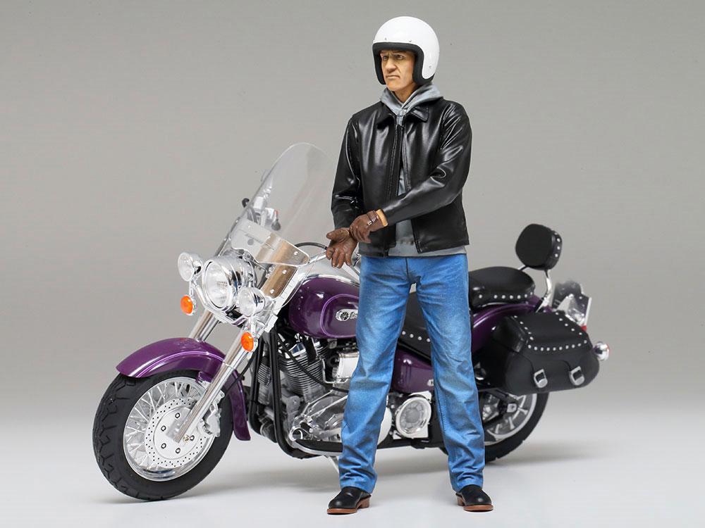 ストリートライダープラモデル(タミヤ1/12 オートバイシリーズNo.137)商品画像_4