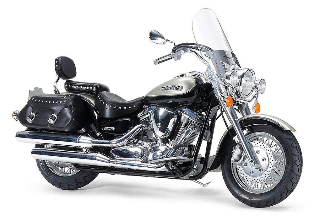 ヤマハ XV1600 ロードスター カスタムプラモデル(タミヤ1/12 オートバイシリーズNo.135)商品画像_2