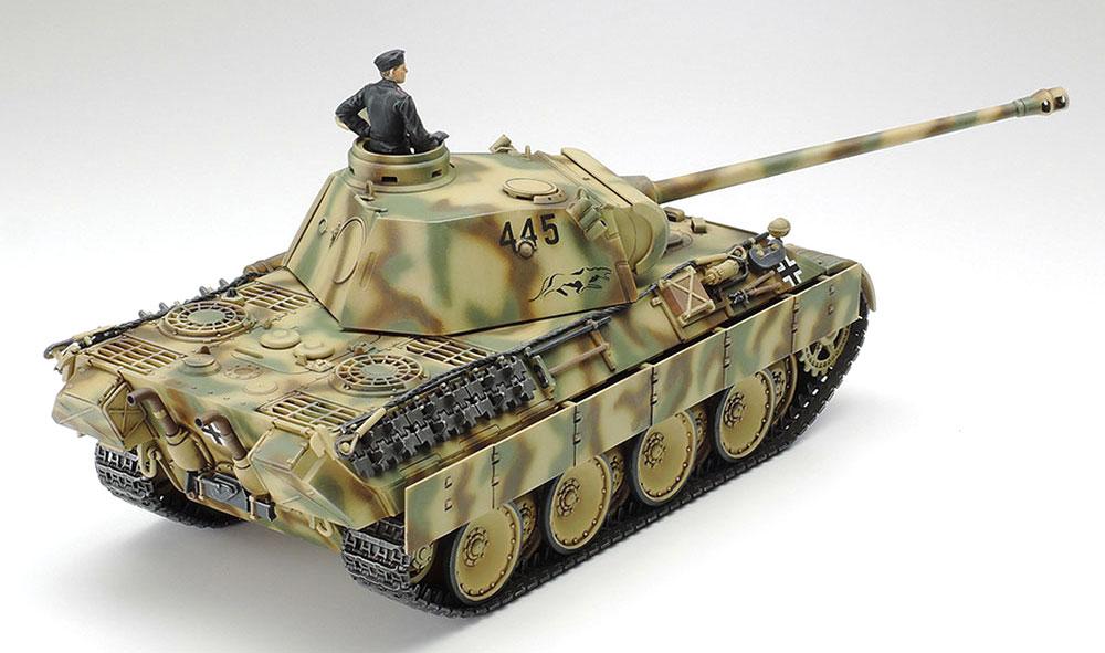 ドイツ戦車 パンサー D型プラモデル(タミヤ1/48 ミリタリーミニチュアシリーズNo.097)商品画像_3