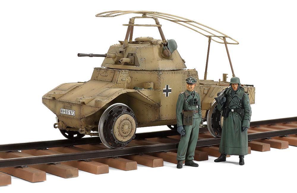ドイツ鉄道装甲車 P204(f)プラモデル(タミヤ1/35 ミリタリー コレクションNo.32413)商品画像_2
