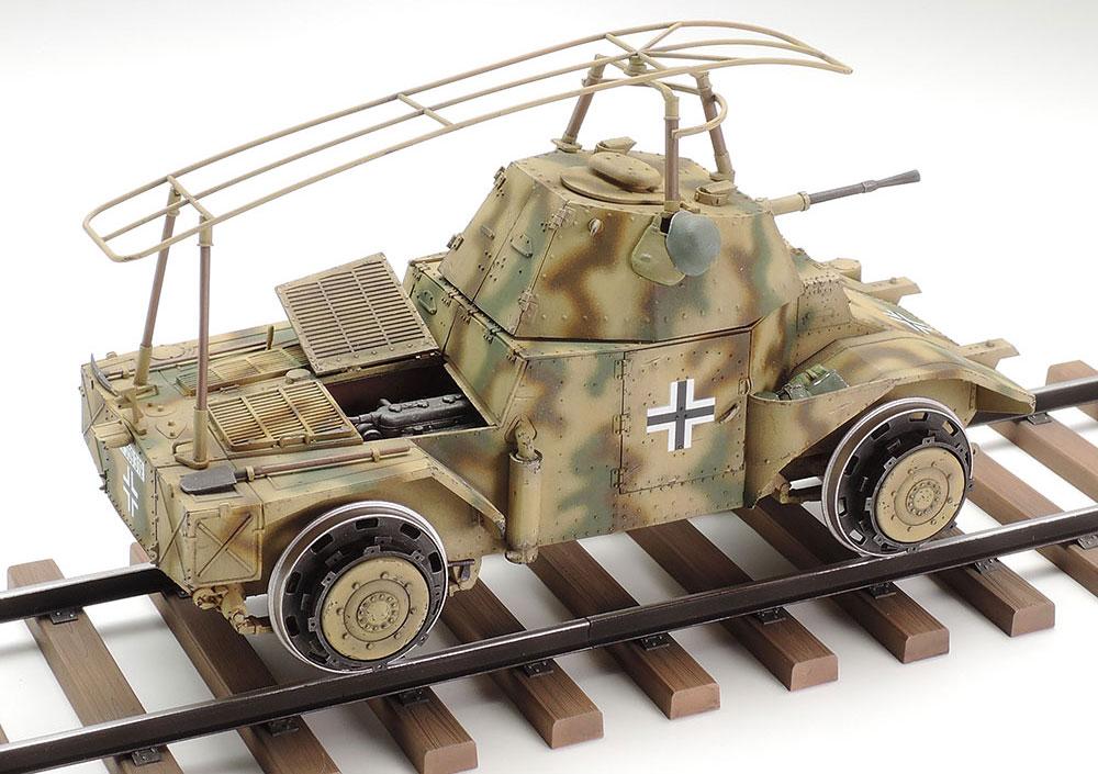 ドイツ鉄道装甲車 P204(f)プラモデル(タミヤ1/35 ミリタリー コレクションNo.32413)商品画像_3