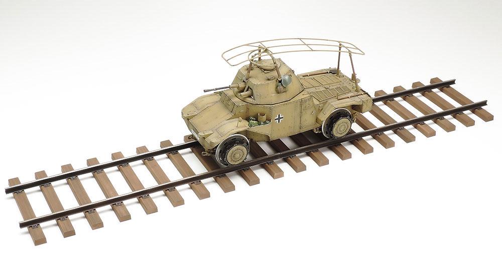 ドイツ鉄道装甲車 P204(f)プラモデル(タミヤ1/35 ミリタリー コレクションNo.32413)商品画像_4