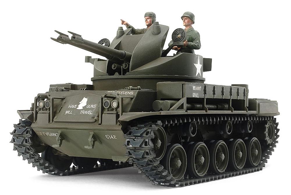 アメリカ対空自走砲 M42 ダスター (人形3体付き)プラモデル(タミヤ1/35 ミリタリーミニチュアシリーズNo.161)商品画像_2