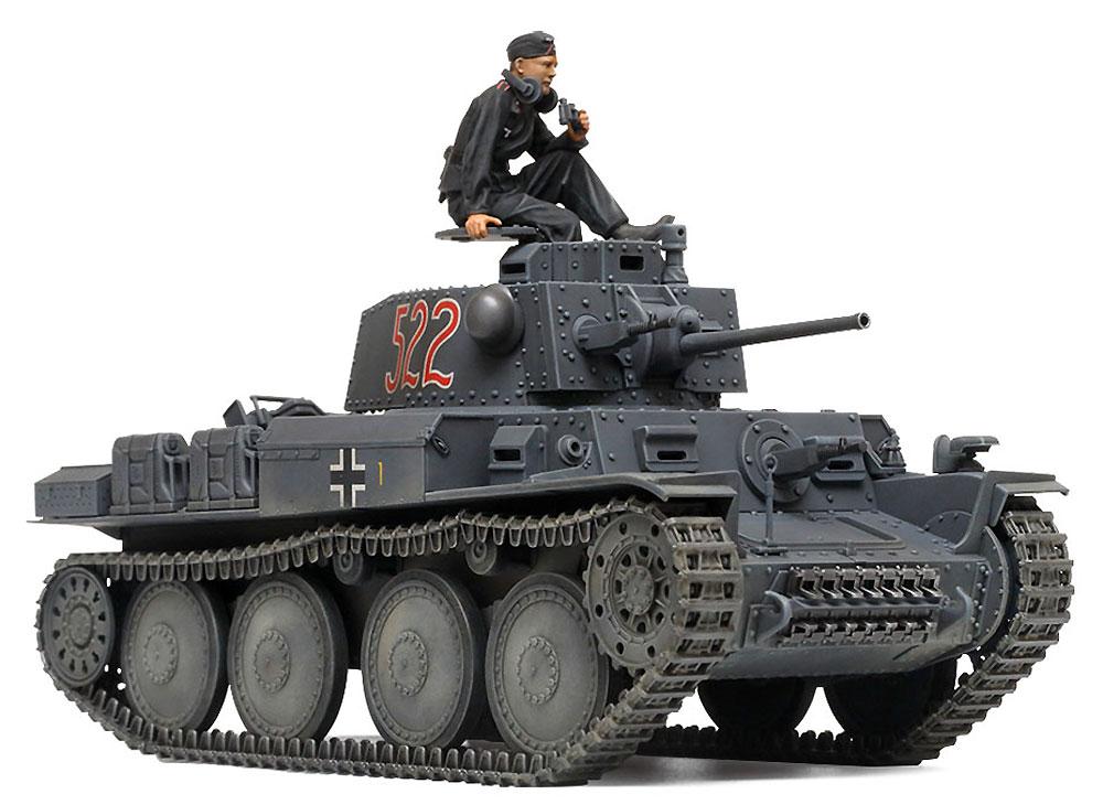 ドイツ軽戦車 38(t) E/F型プラモデル(タミヤ1/35 ミリタリーミニチュアシリーズNo.369)商品画像_2