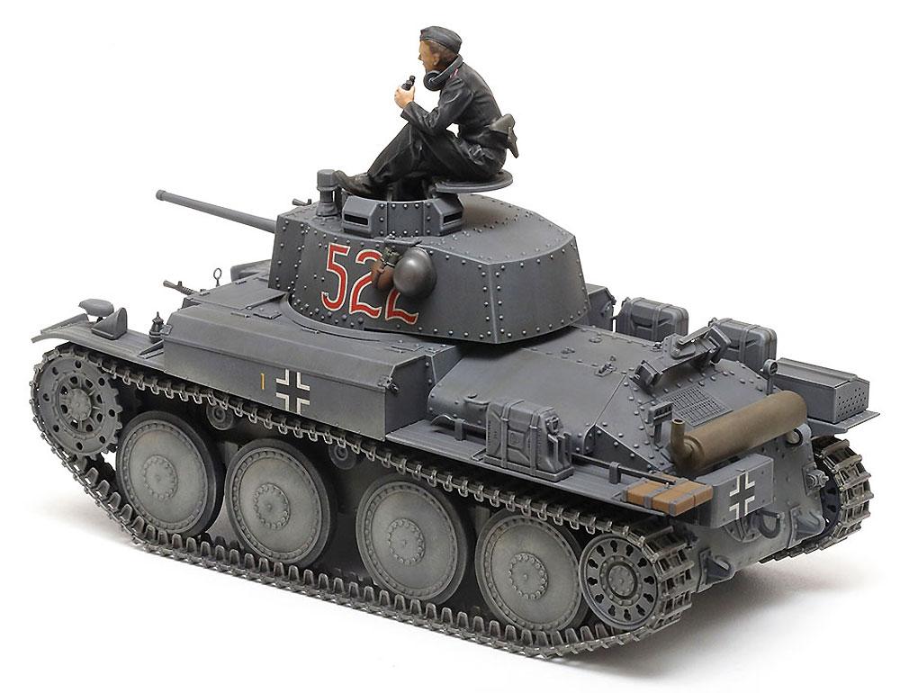 ドイツ軽戦車 38(t) E/F型プラモデル(タミヤ1/35 ミリタリーミニチュアシリーズNo.369)商品画像_3