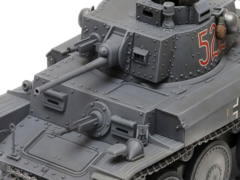 ドイツ軽戦車 38(t) E/F型プラモデル(タミヤ1/35 ミリタリーミニチュアシリーズNo.369)商品画像_4
