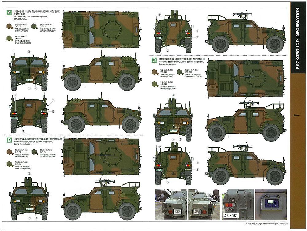 陸上自衛隊 軽装甲機動車 (LAV)プラモデル(タミヤ1/35 ミリタリーミニチュアシリーズNo.368)商品画像_2