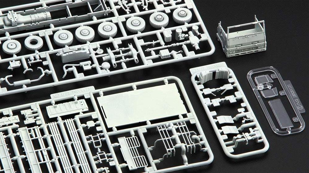 陸上自衛隊 3 1/2t トラック 特別仕様 白色塗装仕様プラモデル(フジミ1/72 ミリタリーシリーズNo.72M-008EX-002)商品画像_1