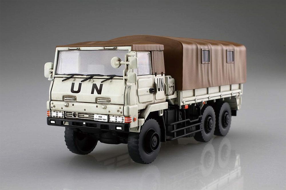 陸上自衛隊 3 1/2t トラック 特別仕様 白色塗装仕様プラモデル(フジミ1/72 ミリタリーシリーズNo.72M-008EX-002)商品画像_3