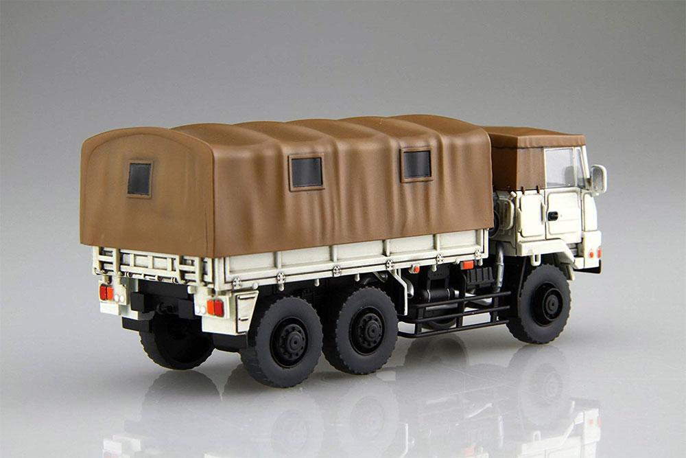 陸上自衛隊 3 1/2t トラック 特別仕様 白色塗装仕様プラモデル(フジミ1/72 ミリタリーシリーズNo.72M-008EX-002)商品画像_4