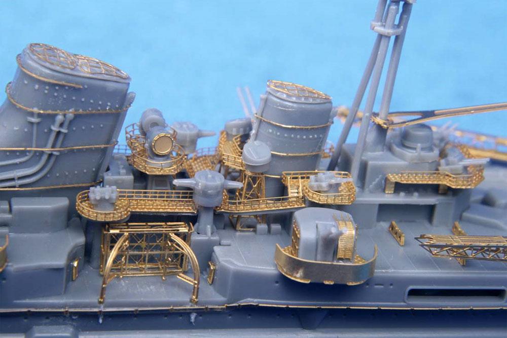 日本海軍 重巡洋艦 妙高 エッチングパーツ & 2ピース 25ミリ機銃エッチング(フジミ艦船模型用グレードアップパーツNo.特007EX-101)商品画像_2