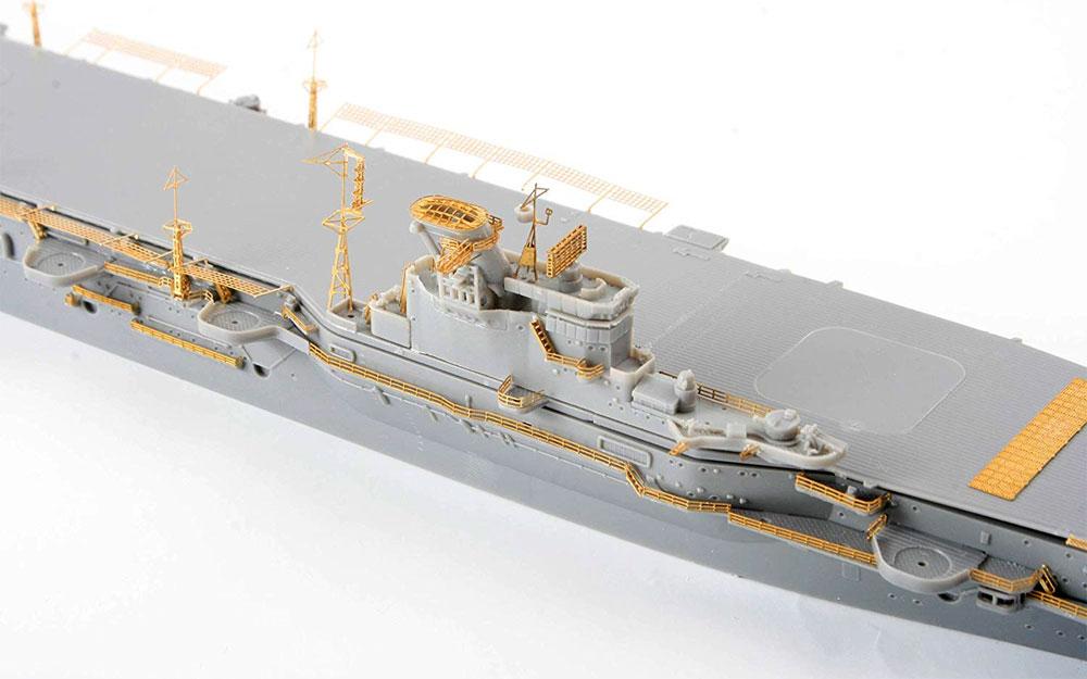 日本海軍 航空母艦 隼鷹 エッチングパーツ & 2ピース 25ミリ機銃エッチング(フジミ艦船模型用グレードアップパーツNo.特015EX-101)商品画像_2