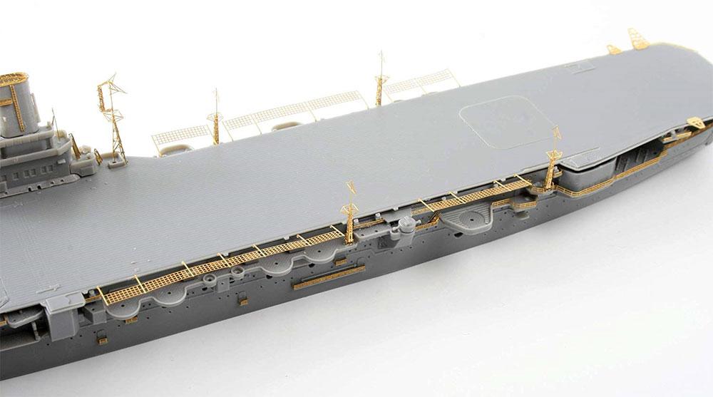 日本海軍 航空母艦 隼鷹 エッチングパーツ & 2ピース 25ミリ機銃エッチング(フジミ艦船模型用グレードアップパーツNo.特015EX-101)商品画像_4