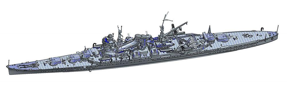 日本海軍 重巡洋艦 最上 昭和17年プラモデル(フジミ1/700 特シリーズNo.069)商品画像_1