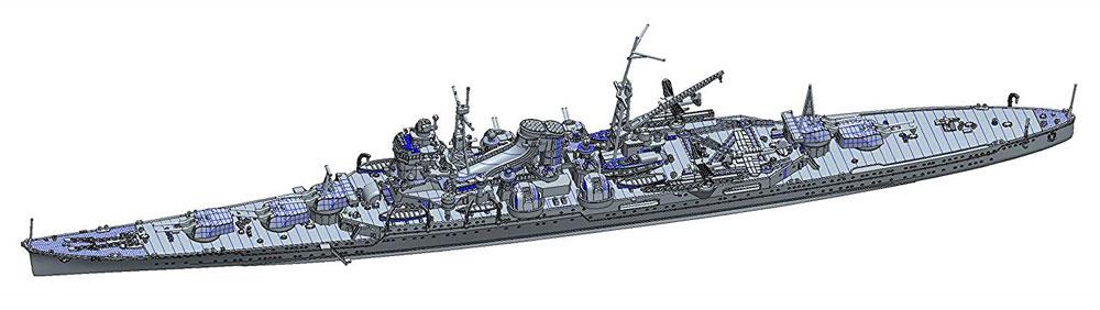 日本海軍 重巡洋艦 三隈 昭和17年プラモデル(フジミ1/700 特シリーズNo.070)商品画像_1