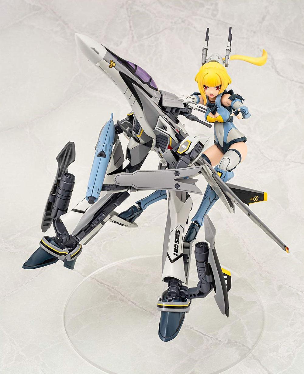 ヴァリアブルファイターガールズ マクロスF VF-25S メサイアプラモデル(アオシマACKS (アオシマ キャラクターキット セレクション)No.MC-006)商品画像_4