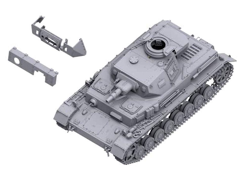 ドイツ 4号戦車 F1型 フォアパンツァー & シュルツェン 3in1プラモデル(ボーダーモデル1/35 ミリタリーNo.BT-003)商品画像_2