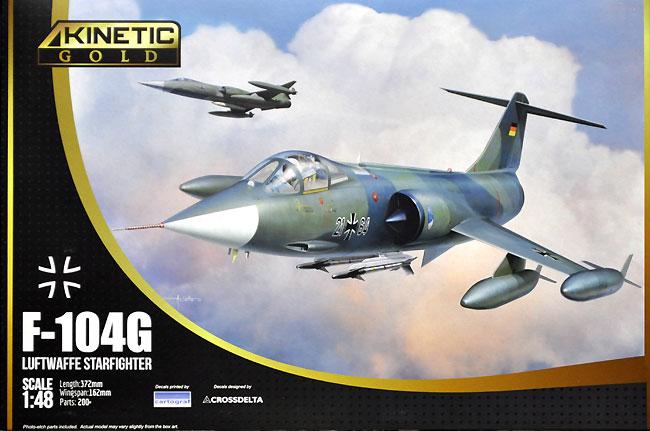 F-104G スターファイター ドイツ空軍プラモデル(キネティック1/48 エアクラフト プラモデルNo.K48083)商品画像