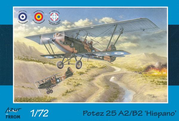ポテーズ 25 A2/B2 イスパノ・スイザ 12Lb エンジン搭載機プラモデル(アズール1/72 航空機モデルNo.FR0038)商品画像