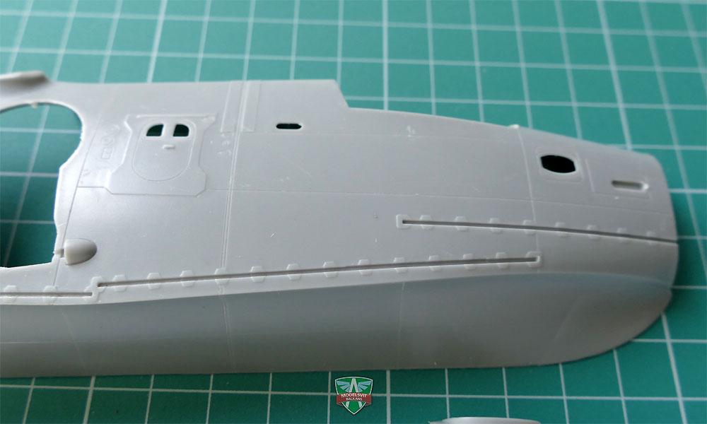 べリエフ Be-12P-200 試作消防飛行艇プラモデル(モデルズビット1/72 エアクラフト プラモデルNo.72037)商品画像_4