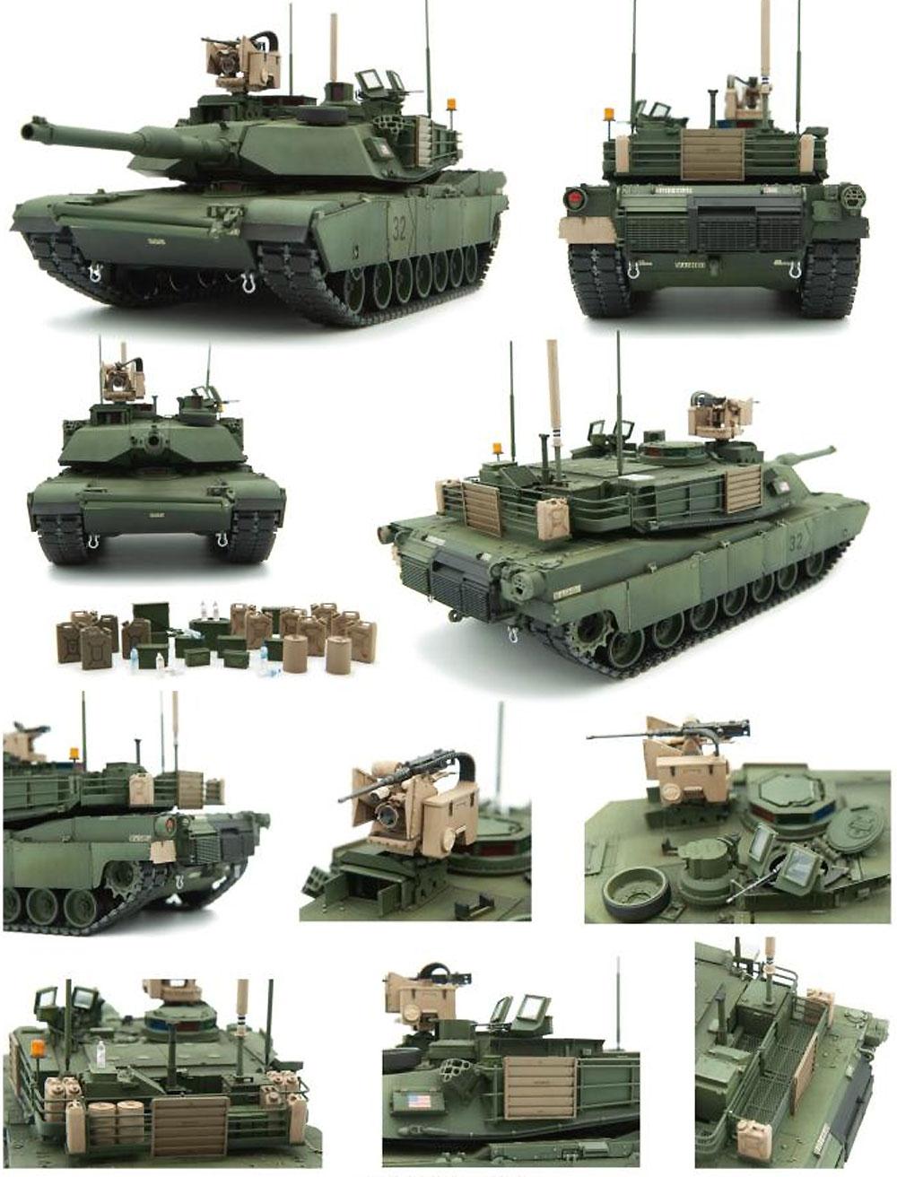 M1A2 SEP V2 エイブラムス アメリカ主力戦車プラモデル(vollo1/35 ミリタリーNo.01101)商品画像_4