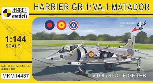 ハリアー GR.1/VA.1 マタドール VTOL/STOL ファイタープラモデル(MARK 1MARK 1 modelsNo.MKM14487)商品画像