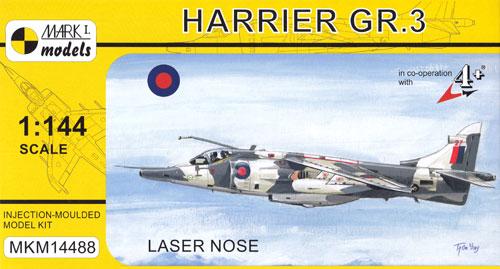 ハリアー GR.3 レーザーノーズプラモデル(MARK 1MARK 1 modelsNo.MKM14488)商品画像