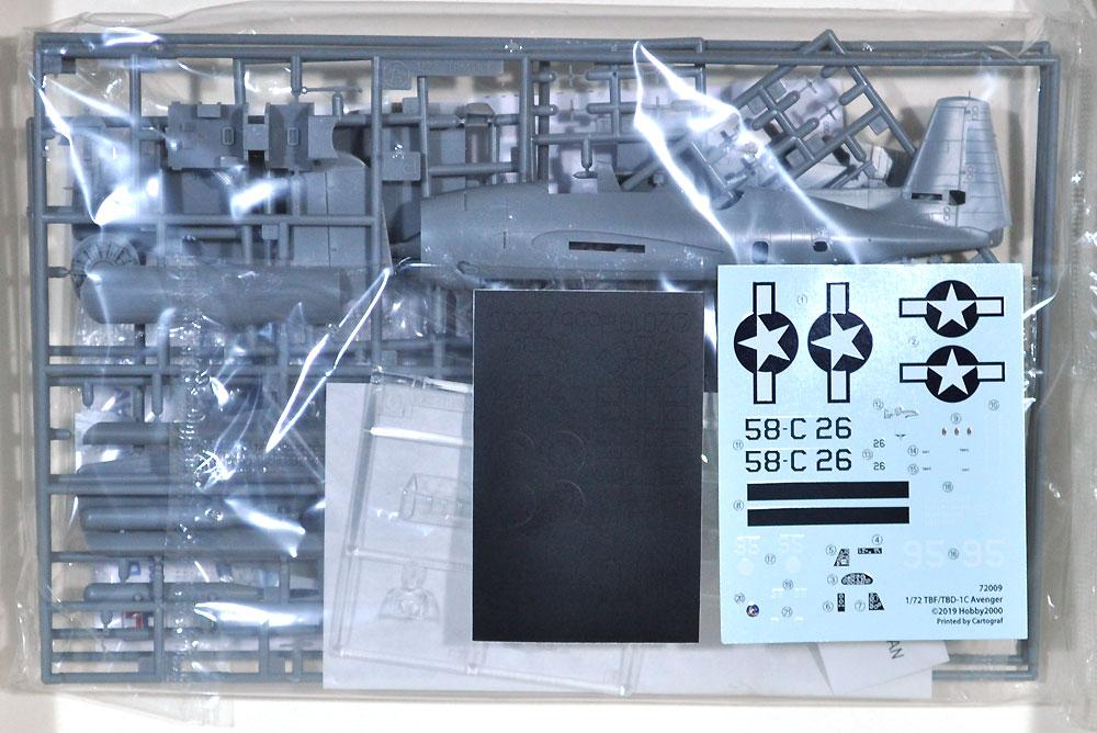 TBF/TBM-1C アベンジャープラモデル(HOBBY 20001/72 モデルキットNo.72009)商品画像_1