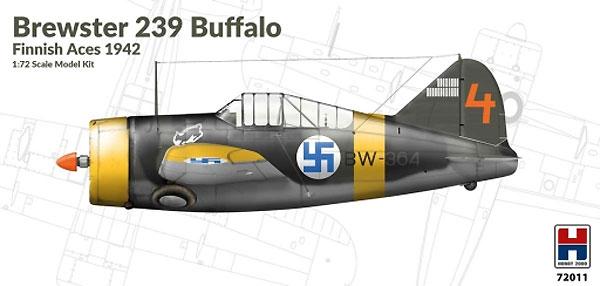 ブリュースター 239 バッファロー フィンランドエース 1942プラモデル(HOBBY 20001/72 モデルキットNo.72011)商品画像