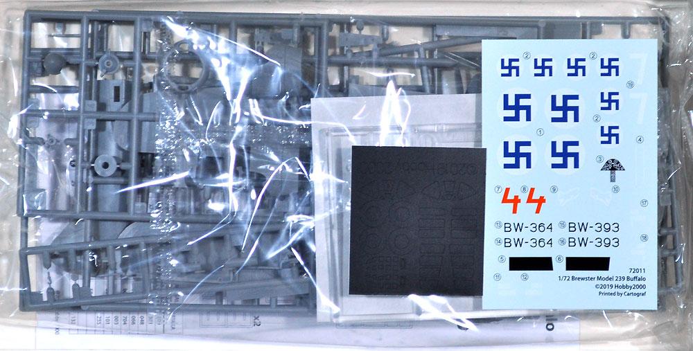 ブリュースター 239 バッファロー フィンランドエース 1942プラモデル(HOBBY 20001/72 モデルキットNo.72011)商品画像_1