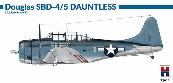 ダグラス SBD-4/5 ドーントレスプラモデル(HOBBY 20001/72 モデルキットNo.72014)商品画像
