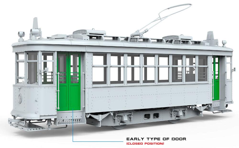 ソビエト 路面電車 Xシリーズ 初期型プラモデル(ミニアート1/35 ミニチュアシリーズNo.38020)商品画像_1