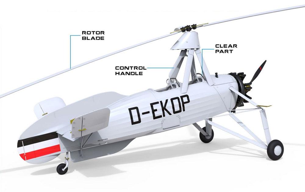 フォッケウルフ FW C.30A ホイシュレッケ 初期型プラモデル(ミニアートエアクラフトミニチュアシリーズNo.41012)商品画像_1