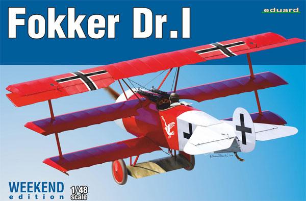 フォッカー Dr.1プラモデル(エデュアルド1/48 ウィークエンド エディションNo.8487)商品画像