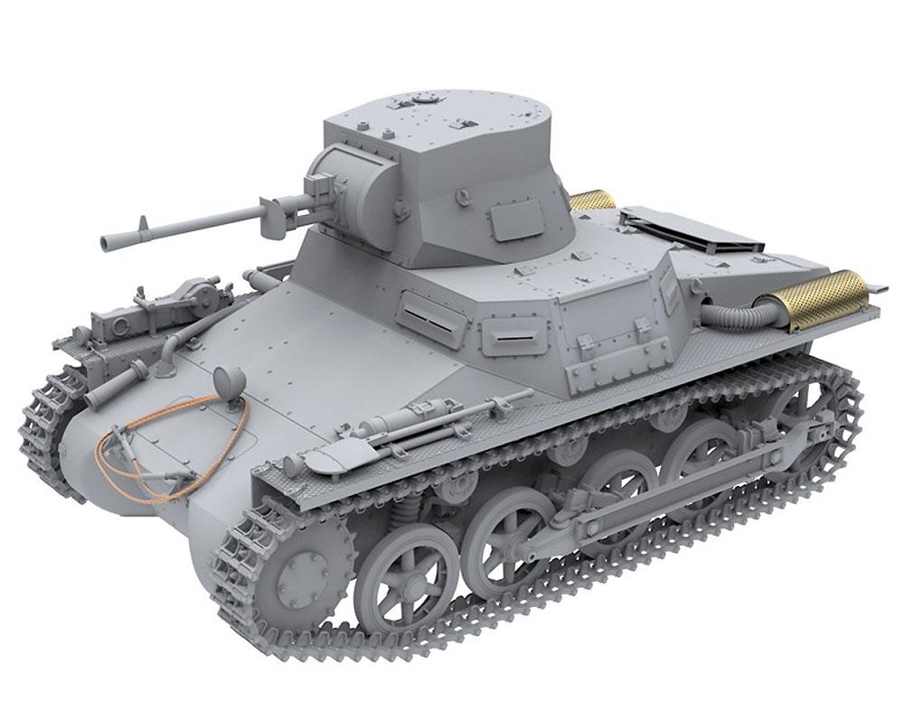 1号戦車 ブレダ スペイン内戦プラモデル(アモLimited Edition Plastic model kitNo.A.MIG-8503)商品画像_2