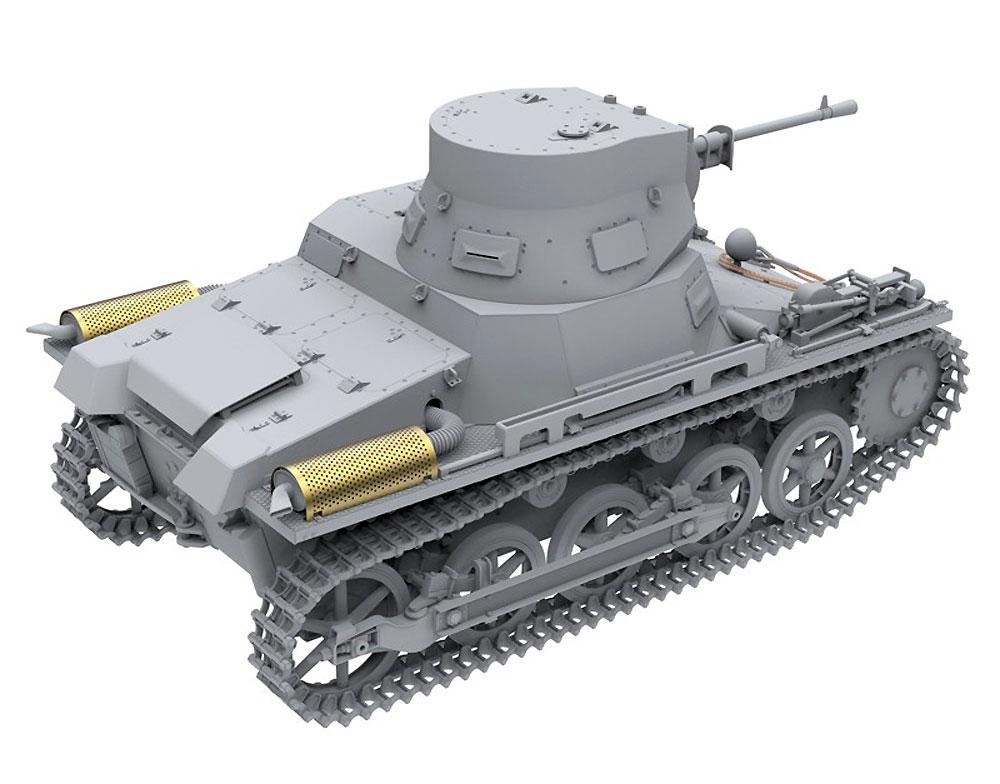 1号戦車 ブレダ スペイン内戦プラモデル(アモLimited Edition Plastic model kitNo.A.MIG-8503)商品画像_3