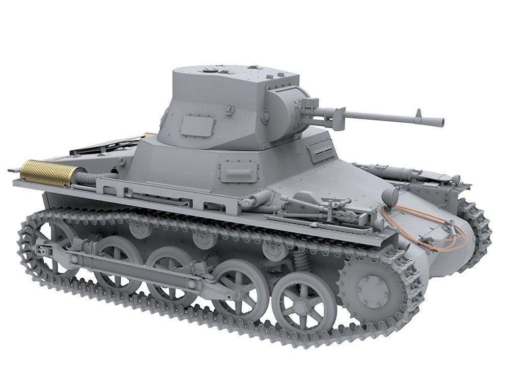1号戦車 ブレダ スペイン内戦プラモデル(アモLimited Edition Plastic model kitNo.A.MIG-8503)商品画像_4