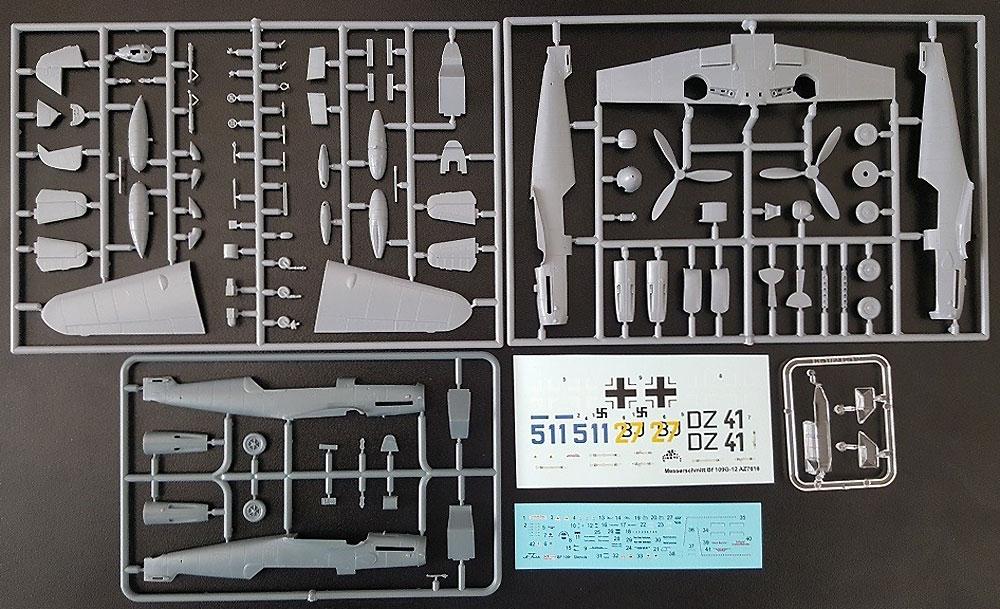 メッサーシュミット Bf109G-12 (G-4ベース型)プラモデル(AZ model1/72 エアクラフト プラモデルNo.AZ7616)商品画像_1