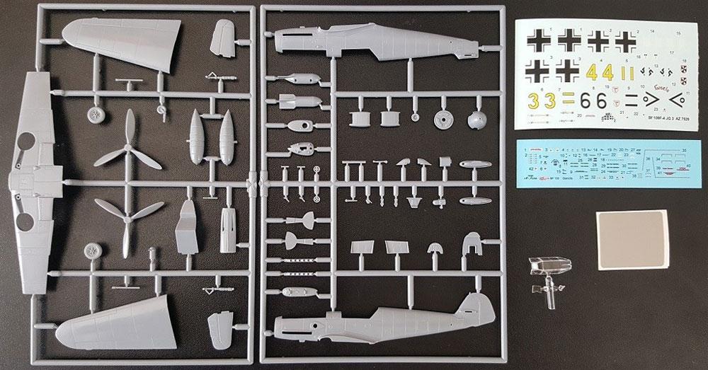 メッサーシュミット Bf109F-4 JG.3 リミテッドエディションプラモデル(AZ model1/72 エアクラフト プラモデルNo.AZ7626)商品画像_1