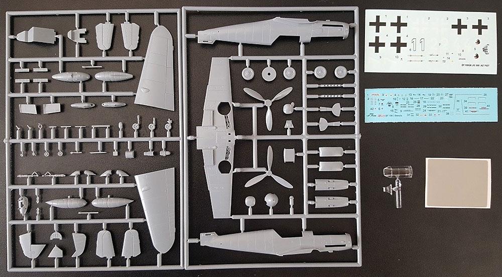 メッサーシュミット Bf109G-6 JG.300 ヴィルデ・ザウ リミテッドエディションプラモデル(AZ model1/72 エアクラフト プラモデルNo.AZ7627)商品画像_1