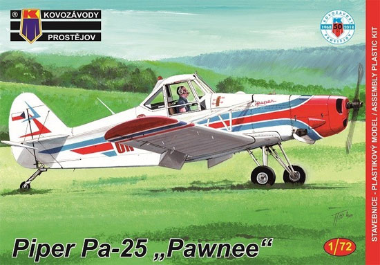 パイパー Pa-25 ポーニー 農業機プラモデル(KPモデル1/72 エアクラフト プラモデルNo.KPM0123)商品画像