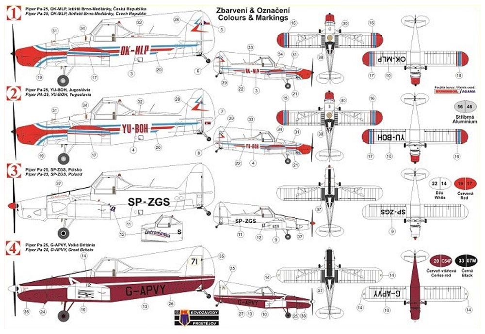 パイパー Pa-25 ポーニー 農業機プラモデル(KPモデル1/72 エアクラフト プラモデルNo.KPM0123)商品画像_1