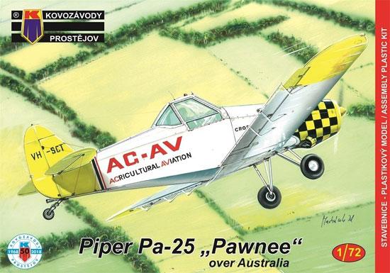 パイパー Pa-25 ポーニー 農業機 オーストラリアプラモデル(KPモデル1/72 エアクラフト プラモデルNo.KPM0125)商品画像