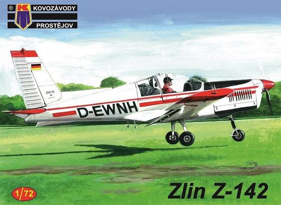ズリン Z-142 民間機プラモデル(KPモデル1/72 エアクラフト プラモデルNo.KPM0142)商品画像