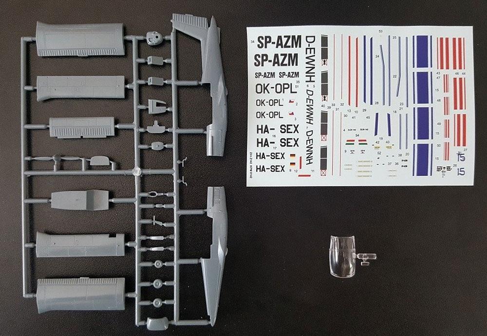 ズリン Z-142 民間機プラモデル(KPモデル1/72 エアクラフト プラモデルNo.KPM0142)商品画像_1