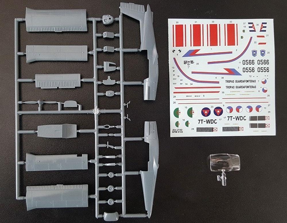 ズリン Z-142 軍用機プラモデル(KPモデル1/72 エアクラフト プラモデルNo.KPM0143)商品画像_1