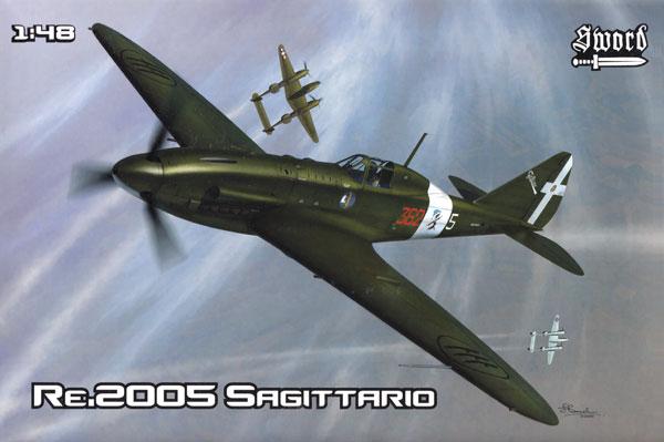 レジアーネ Re.2005 サジタリオプラモデル(ソード1/48 エアクラフト プラモデルNo.SW48010)商品画像